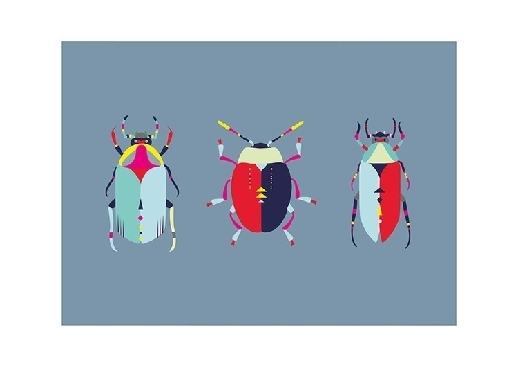 illustration, drawing, bugs, insect - clairegil | ello