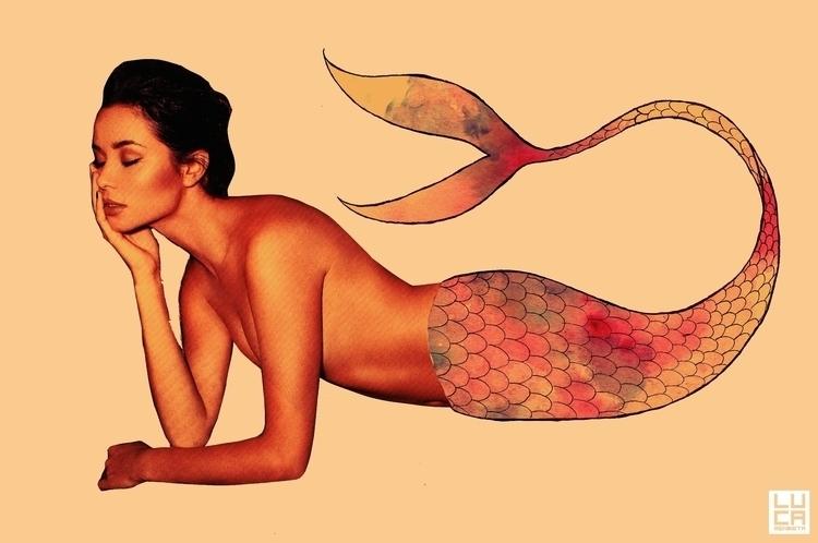 siren, sirens, surreal, surrealism - lucamendieta | ello