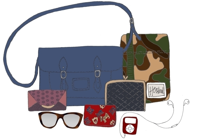 whats bag  - Ipod, Purse, Glasses - vintage_reflection | ello