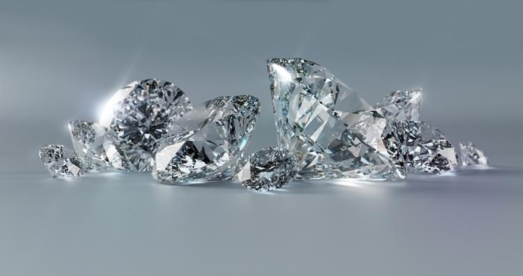 Diamantes 3 - CGI - diamond, 3d - edivan-5333 | ello