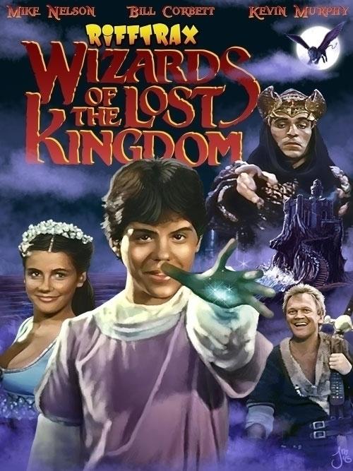 poster RiffTrax Wizards Lost Ki - jasonmartin-1263 | ello