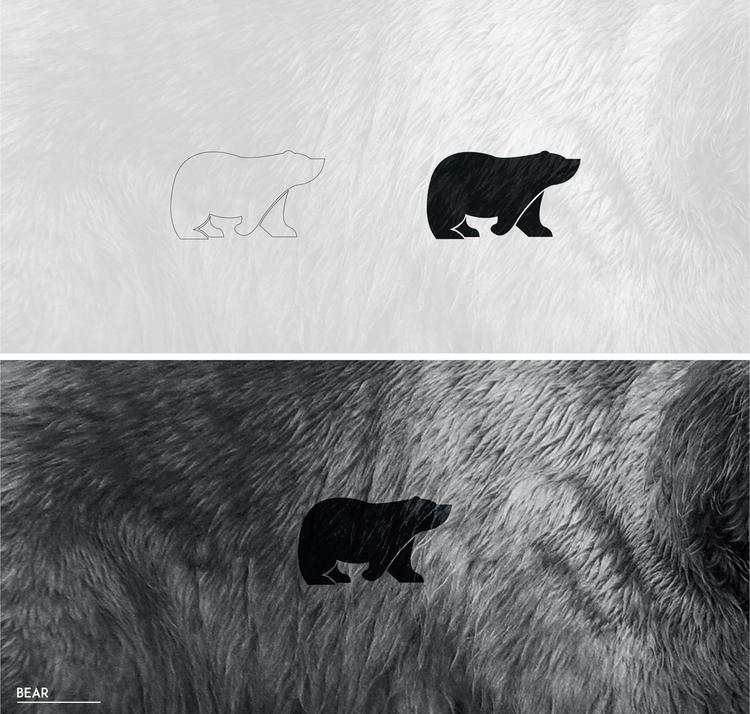 bear - illustration, characterdesign - julls_cutepunk | ello