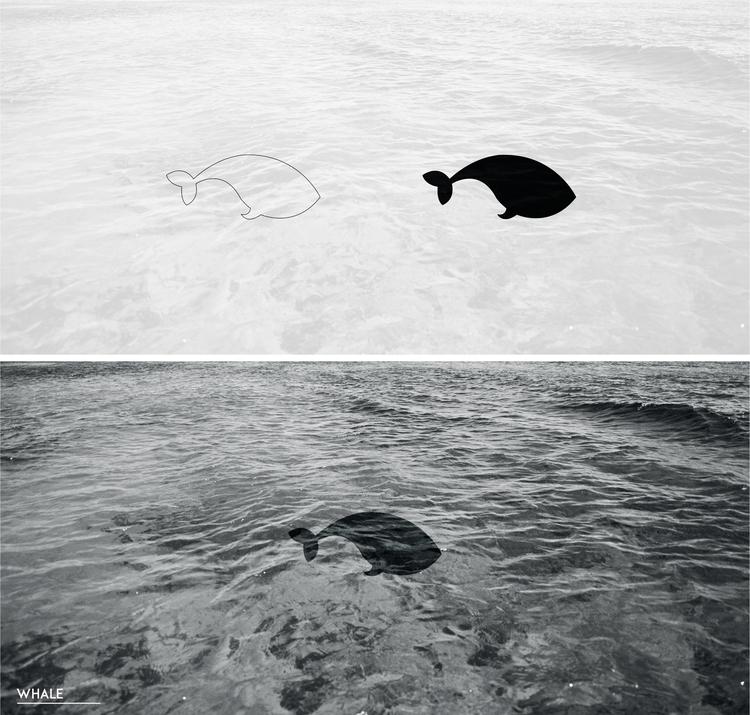 whale - illustration, characterdesign - julls_cutepunk | ello
