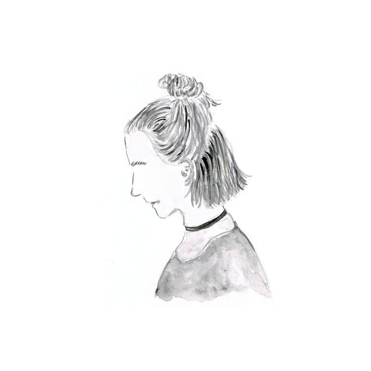 bun - illustration, painting, drawing - fandesai   ello