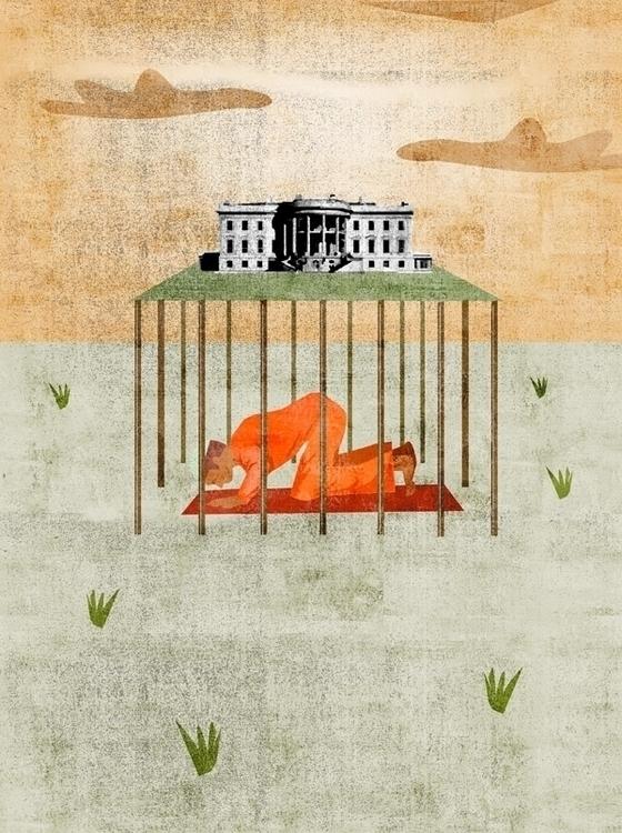 Editorial illustration response - anthonyforonda | ello