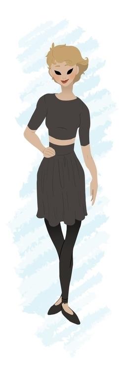 characterdesign, digitalillustration - hannahspangler | ello
