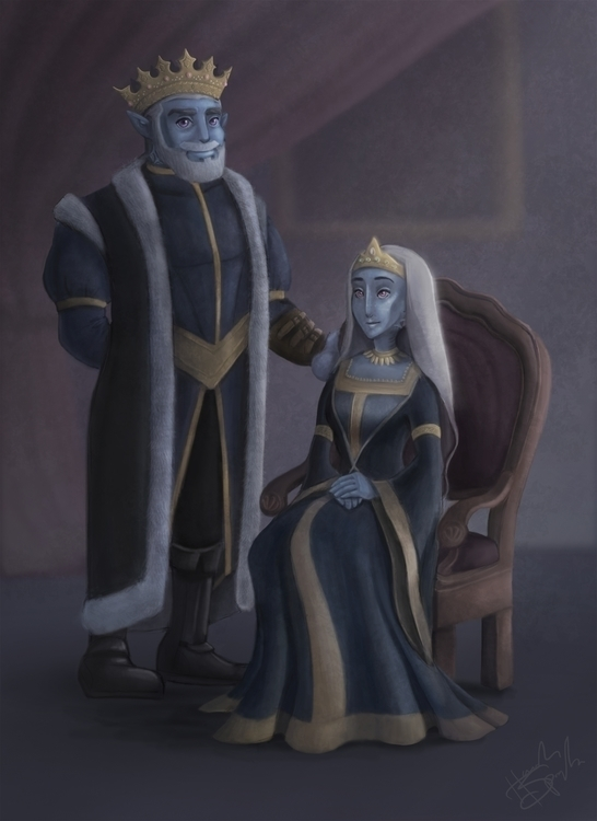 King Alec Queen Jenell Ceraphin - hannahspangler | ello