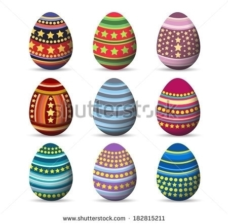 Easter eggs set - easter, easterbunny - ngocdai86 | ello
