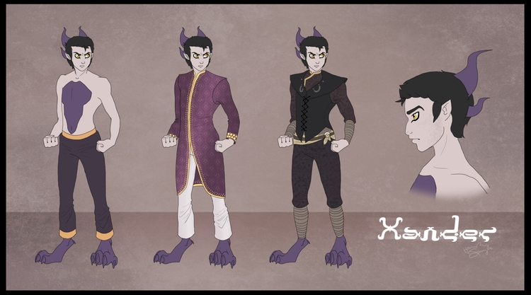 Xander outfit concepts - TheLimitlessCrew - hannahspangler | ello