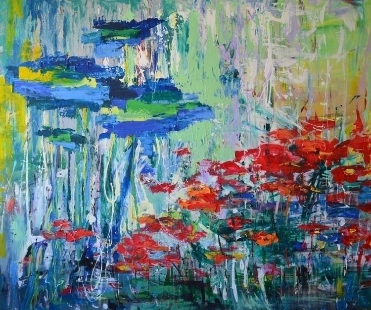 Poppy field. 150x180. Acrylic  - tanya_vasilenko | ello