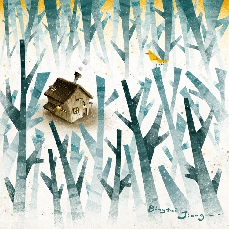 Treehouse - treehouse, illustration - bingtai | ello