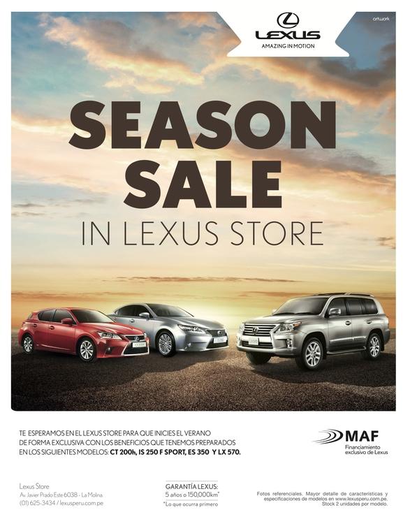 Aviso revista / Cliente: Lexus  - elrodro | ello