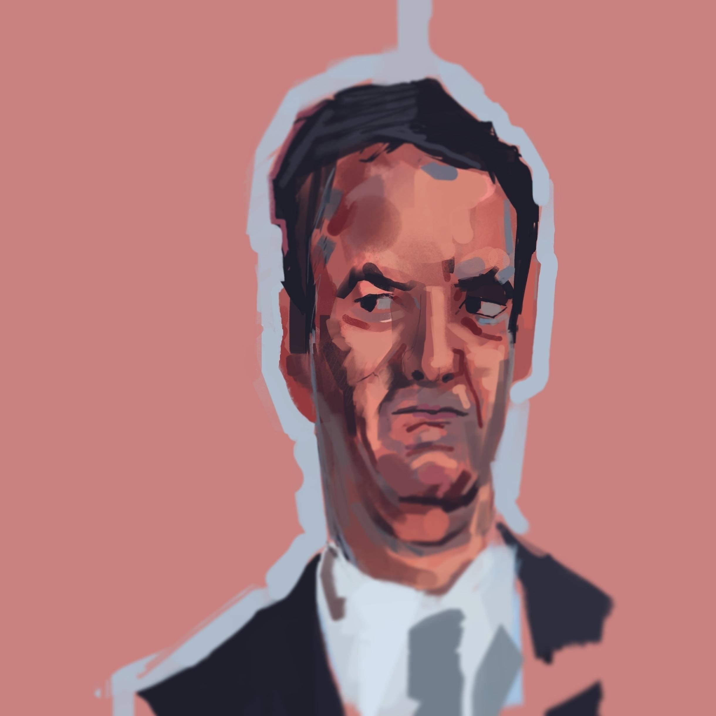 Warm doodle. George Osborne hin - jordan_buckner | ello