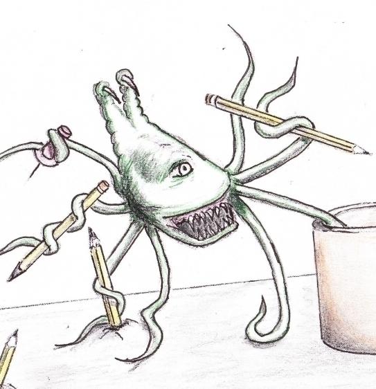 assistant - #wurms, illustration - cheechwiz   ello