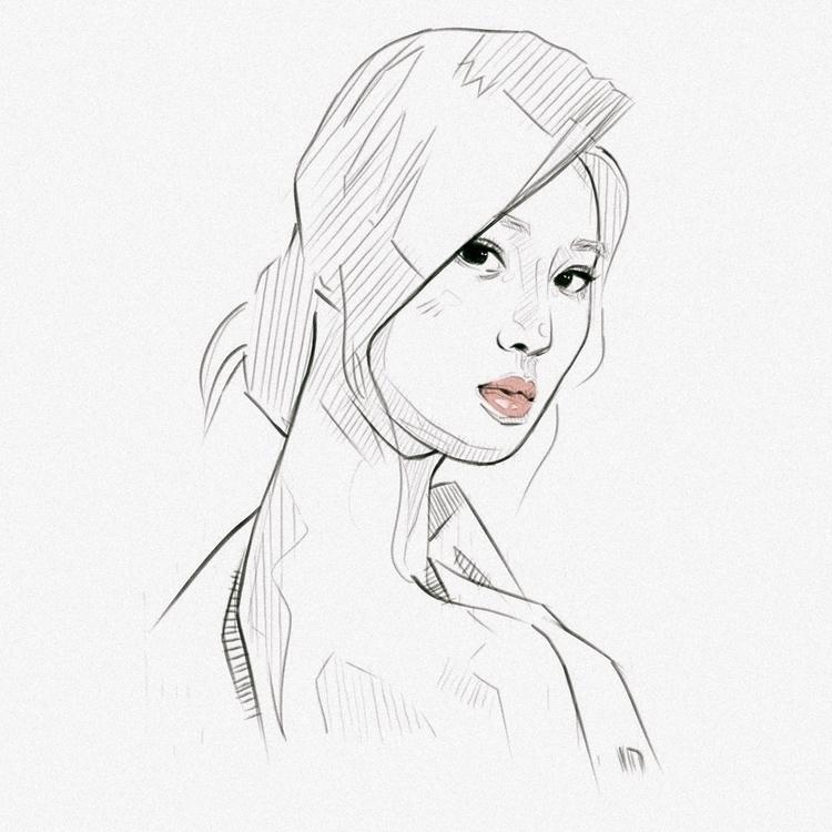 Portrait Study - Kwon Yuri step - victoriuskendrick | ello
