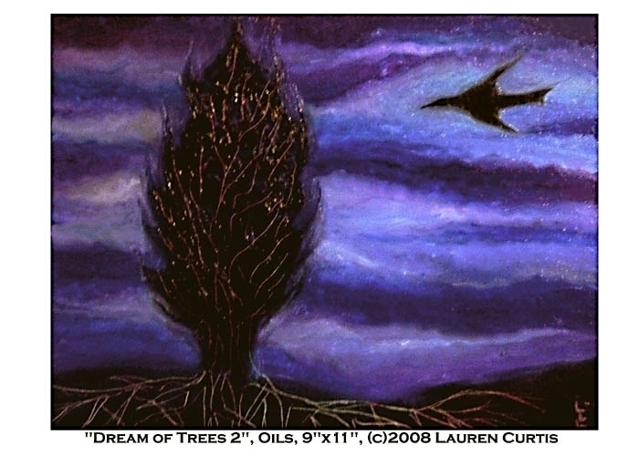 Dream Trees oils - 2,, painting - laurencurtis | ello