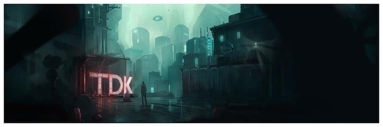 Blade Runner print Jordan Buckn - jordan_buckner | ello