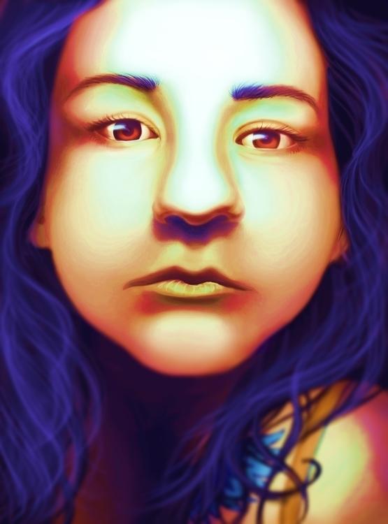 illustration, painting, digitalpainting - cervidae-1054 | ello