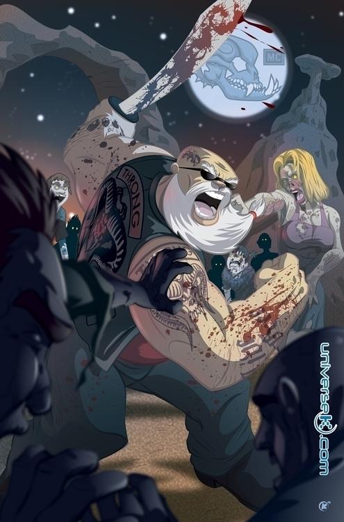 Lost Dogs comic pin - illustration - universek-1349 | ello