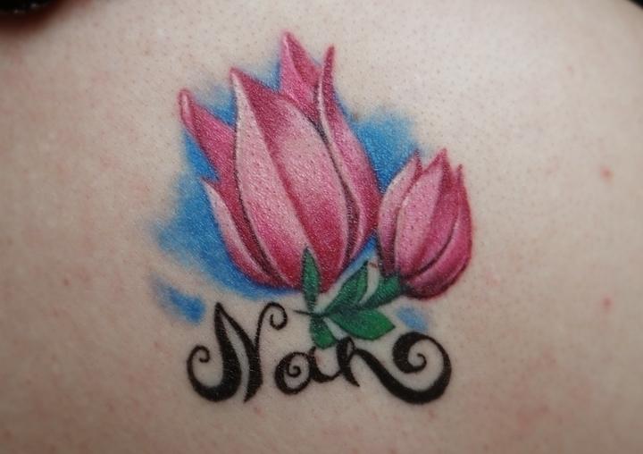 tulip - tattoo, flower - syrnique | ello
