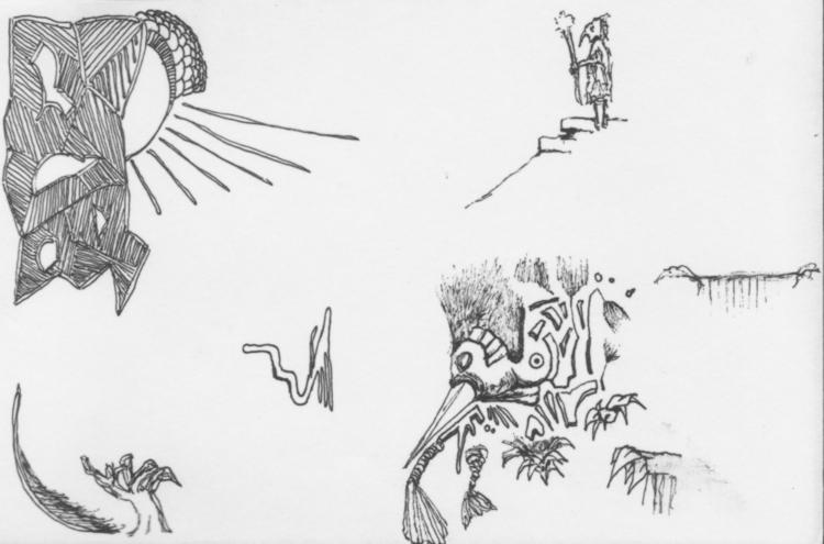 Prayers left - #wurms, illustration - cheechwiz   ello