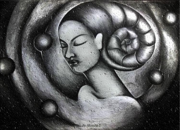 Meditative Consciousness - illustration - monishas | ello