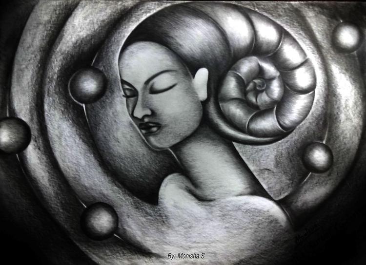 Meditative Consciousness - conceptart - monishas | ello