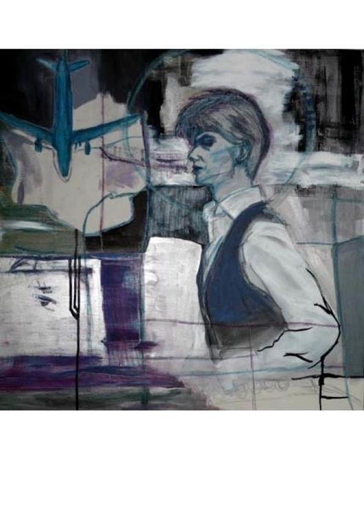 Bowie (Fear scale)-70x70cm-1000 - gdlynnosman | ello