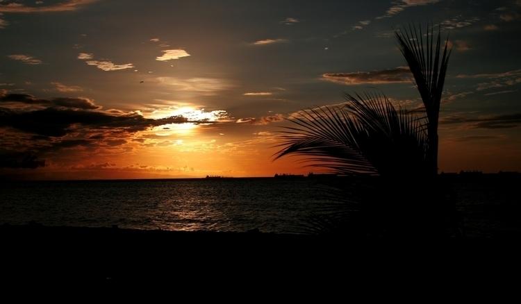 Sunset Venezuela - sunset, sun, orange - alfonsoignacioc | ello