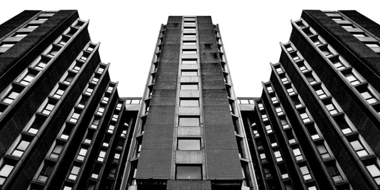 brutalist architecture: st gile - salz | ello