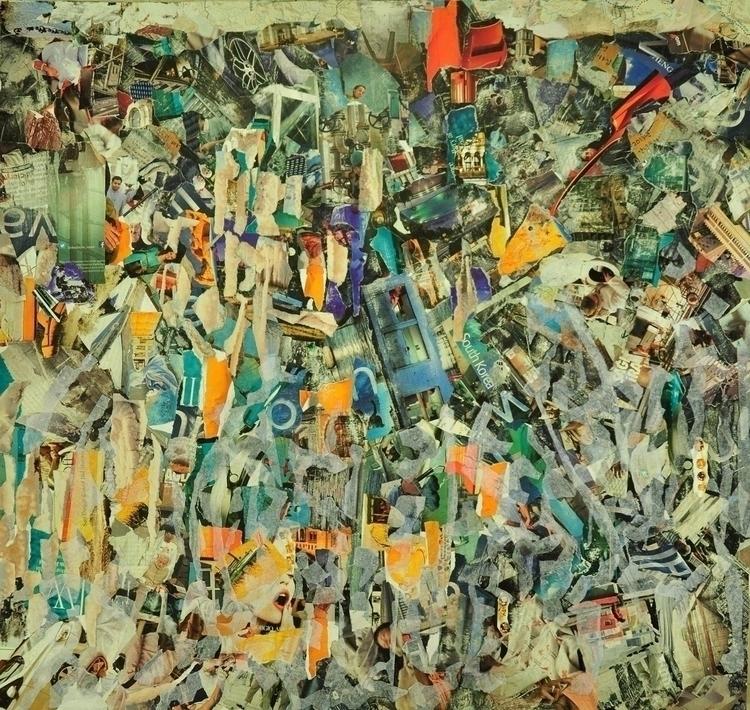 Zanadu - collage, papiercolle - sukantad | ello