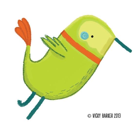 bird, children'sbook, commission - vickydoodles-4070 | ello