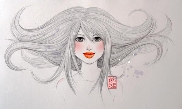 Fashion illustration beautiful  - jessicaguarnido | ello