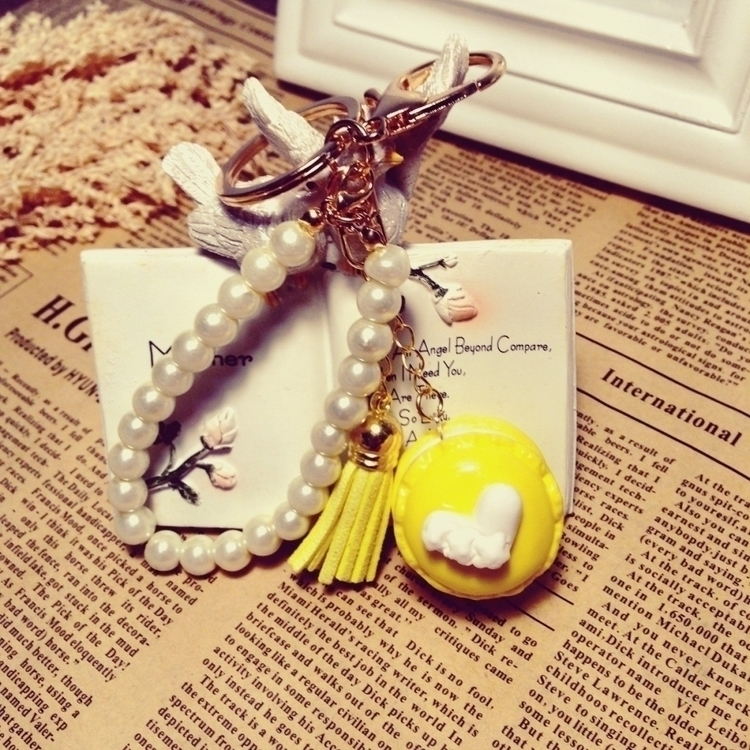 macaron paper clay,Key chain,Fr - vivienne-2076 | ello
