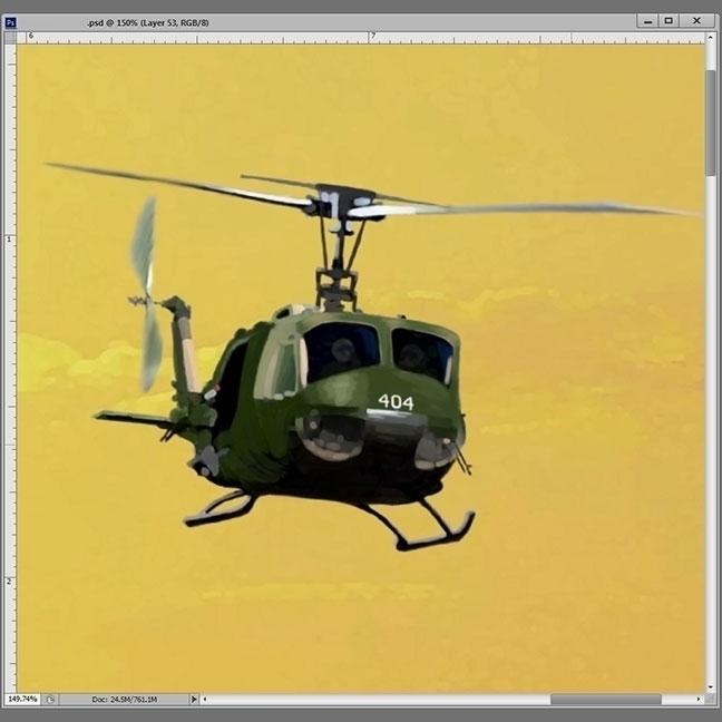Painting chopper RiffTrax: Ston - jasonmartin-1263 | ello