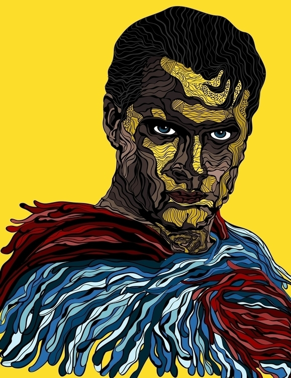 Super - illustration, characterdesign - karylnerona | ello