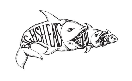 big fish eats small - bigfish, eat - hueroth | ello