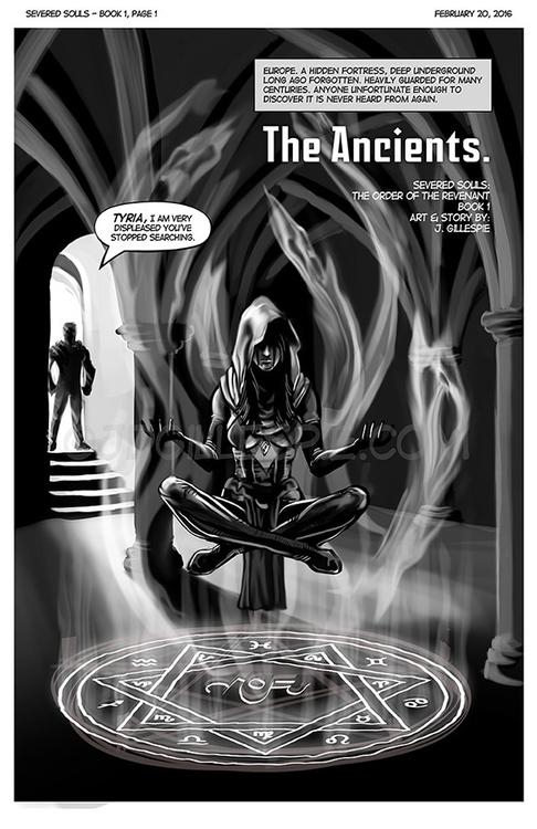 Page 1 book Patreon - comicbooks - jgdc   ello