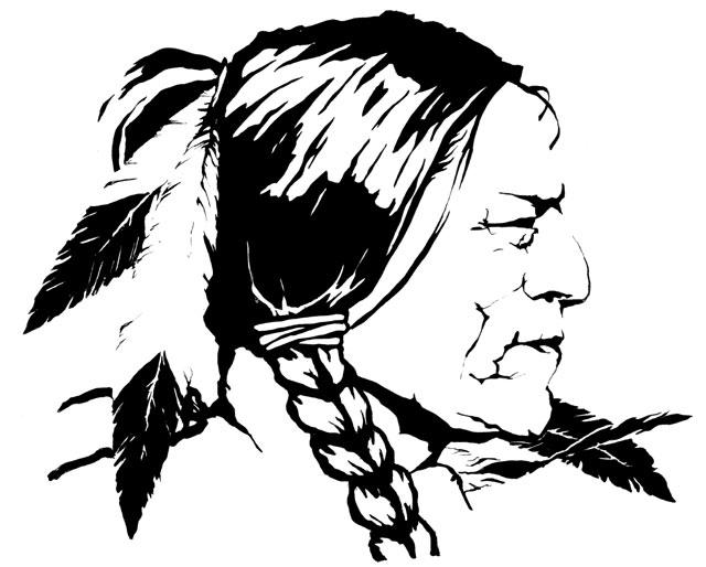 Native American tribute - illustration - jgdc   ello