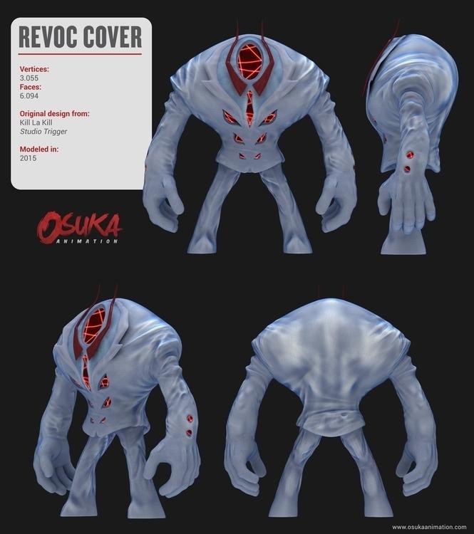 Preview Revoc Cover 3D model KL - osukaanimation | ello