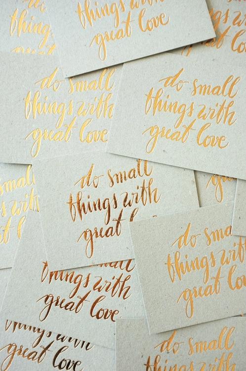 Letterpressed Greeting Cards - lettering - marion-1392   ello