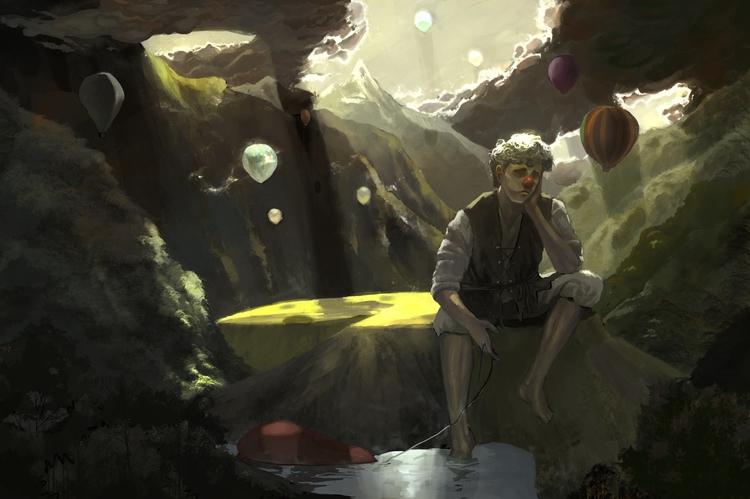Shattered Dreams - illustration - akrishna-9476 | ello