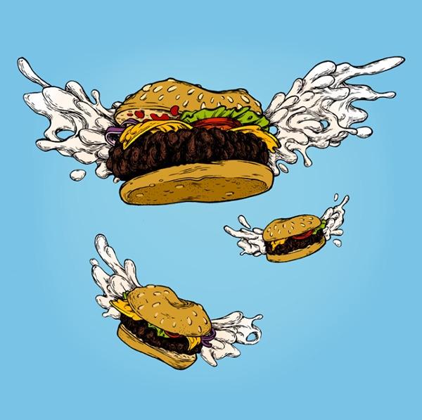 Flying Burgers - bob'sburgers, cartoon - mjarvis-5786   ello