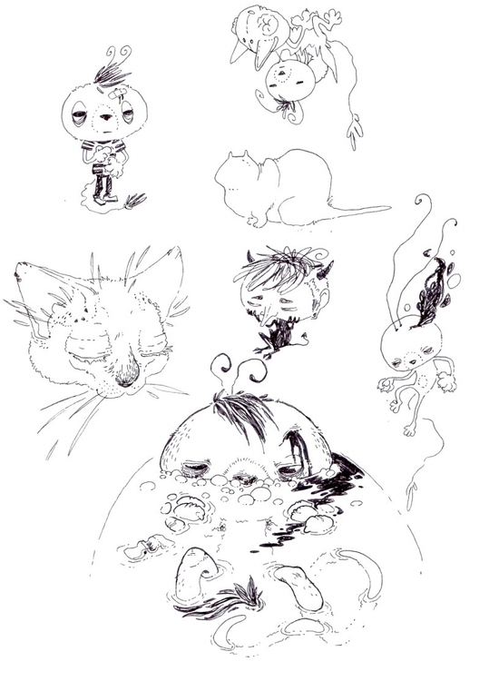 Page Doodles - sketch, sketchbook - mjarvis-5786 | ello