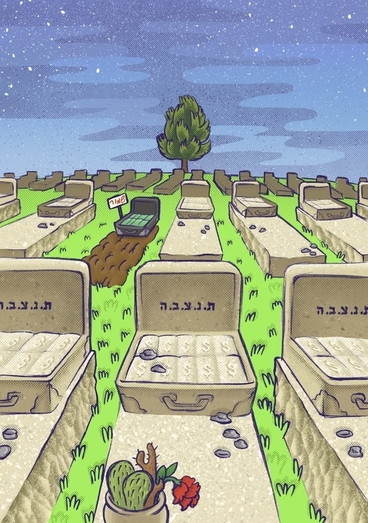 Feet - graveyard, cemetery, jewish - efiolin   ello