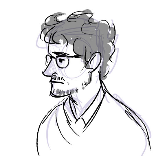 Graham rough sketch - willgraham - ladyalouette | ello