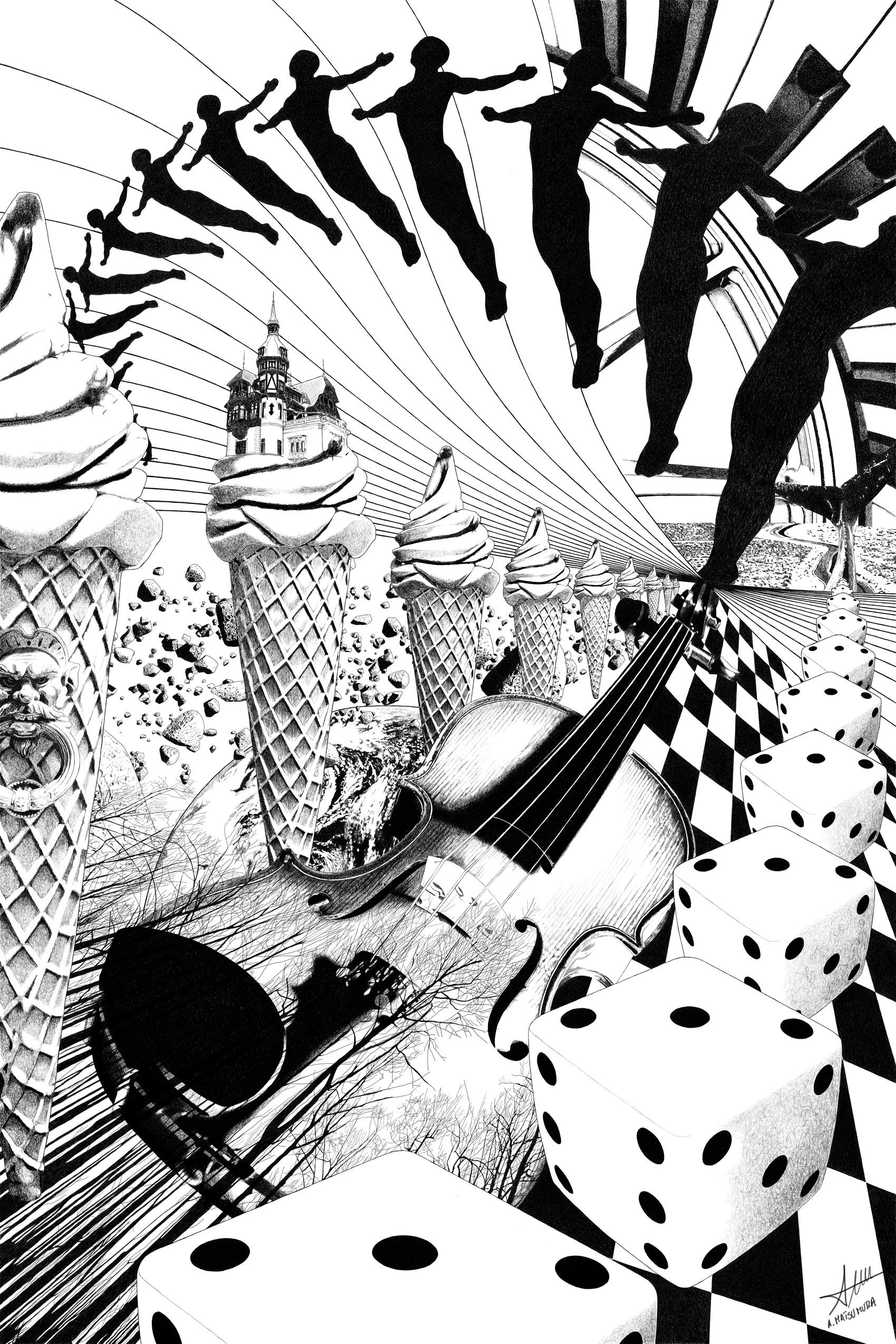 CONTACT PLANET EARTH - surrealism - alberto_matsumura   ello