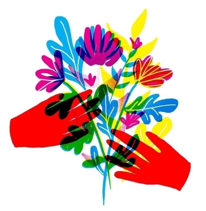Pass - hands, flowers - stephaniekubo-8873 | ello