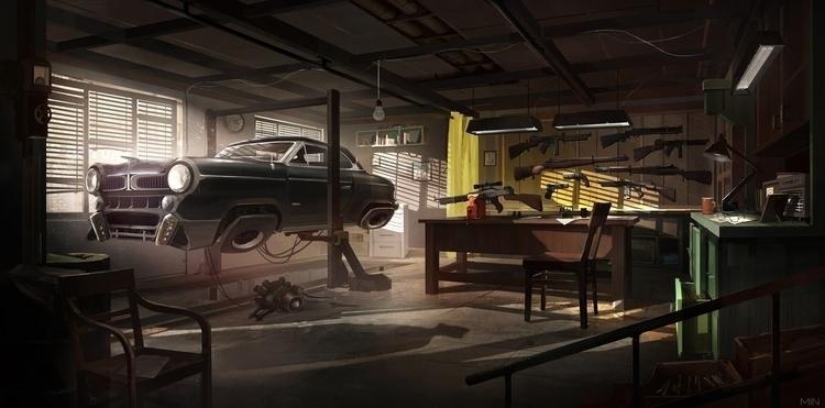 Garage - garage, minnguen, environment - minnguen | ello