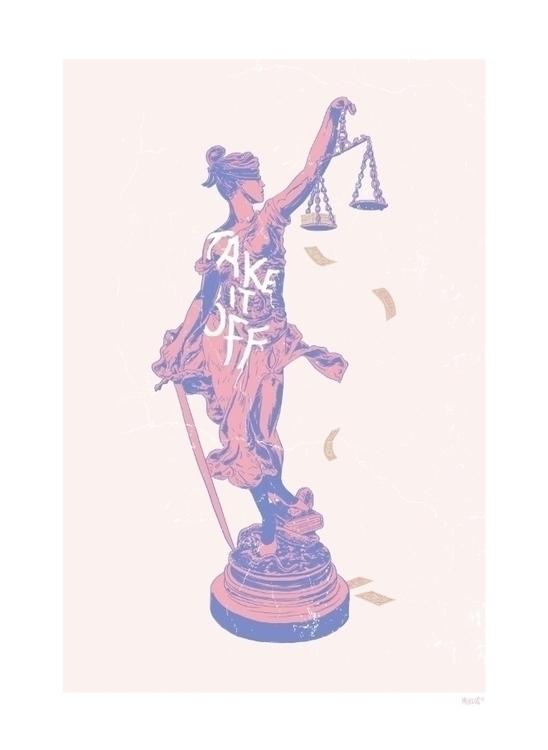 Justice Kris Miklos - justice, statue - krismiklos | ello